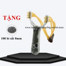 Sung cao su hợp kim siêu bền + Tặng 100 bi sắt 8mm