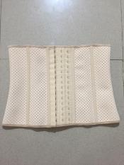 Đai nịt bụng latex 9 xương có lỗ thông hơi (loại ngắn 24 cm)