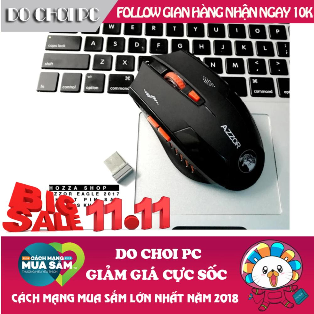 Chuột Azzor Version 2 Pin Sạc Không Dây (Đen) Đang Bán Tại Do Choi PC (Hà Nội)