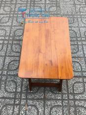 bàn xếp gỗ 40*60 màu tự nhiên