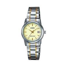 Đồng hồ nữ dây thép không gỉ Casio Anh Khuê LTP-V002SG-9AUDF
