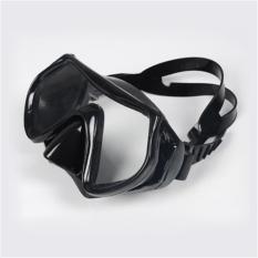 Mặt nạ lặn 1526 mắt KÍNH CƯỜNG LỰC góc nhìn 180 độ, an toàn chống va đạp POPO Collection