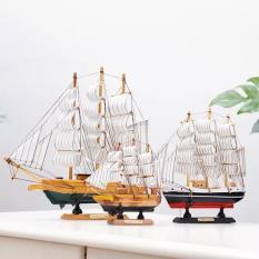 Mô hình Thuyền Buồm Gỗ Trang Trí Tạo Điểm Nhấn (20 cm)