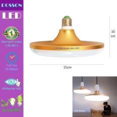 Bóng đèn Led UFO 24w siêu sáng tiết kiệm điện sáng trắng Posson L-UFO24
