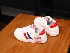 Giày thề thao bé trai Size 26-31 RS136 (Trắng)