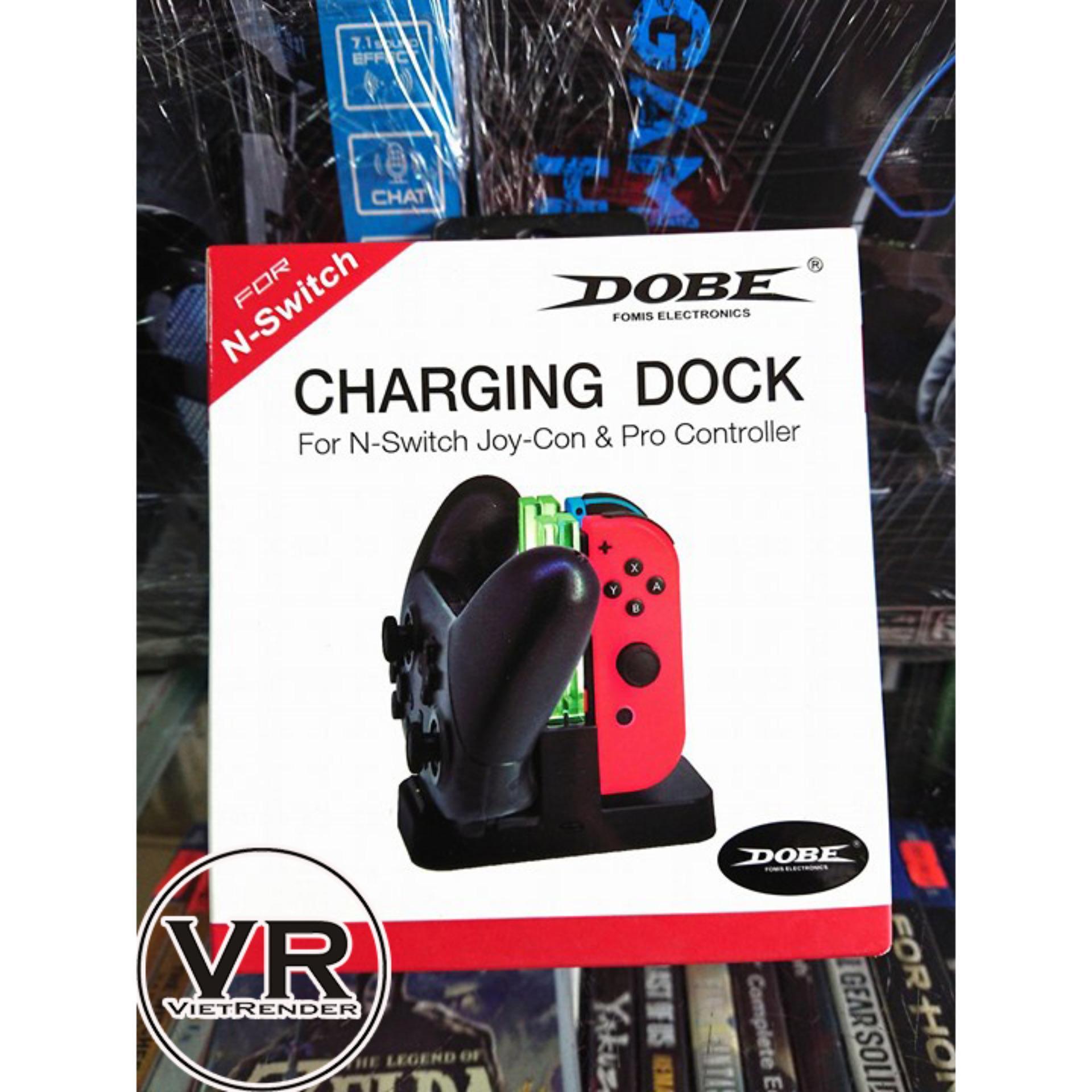 Dock sạc tay cầm và Joy-Con Nintendo Switch