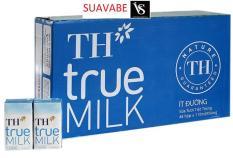 Bộ 48 Hộp Sữa Tươi Tiệt Trùng TH True Milk 110ml