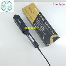 Máy là duỗi tóc bản to thông khí 4 mức nhiệt VIGOR Pro V-129 Chuyên Nghiệp