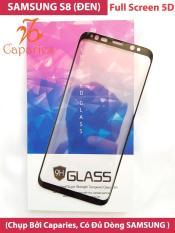 ( Màu ĐEN ) Kính Cường lực SAMSUNG S8 Full màn hình 5D CAPARIES SIÊU BỀN