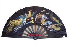 Quạt Võ Thuật cao cấp Quạt Kung Fu cao cấp ( màu đen )