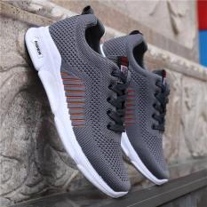 Giày Sneaker Nam Màu Xám Hàn Quốc Cao Cấp AeShin – S99