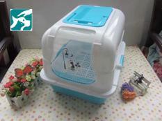 Nhà vệ sinh mèo Chữ nhật