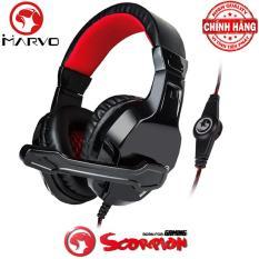Tai nghe chụp tai chuyên game cao cấp Marvo H8329