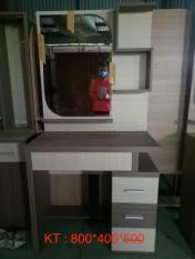 Bàn trang điểm kèm ghế Mina Furniture MN-BPMDF-6 (800*400*500)
