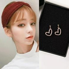 Bông tai nữ JK Silver Korea Design mạ vàng 18K – kiểu dáng trendy trẻ trung
