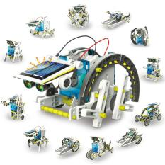 Mô Hình Robot Kit Lắp Ghép Năng Lượng Mặt Trời 13in1