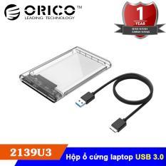 Hộp đựng ổ cứng HDD/SSD 2.5 – USB 3.0 SATA 3 – Orico 2139U3 – Hàng chính hãng phân phối