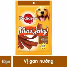 Thức ăn thưởng cho chó – Pedigree Meat Jerky (Sẽ giao ngẫu nhiên khi hết vị)