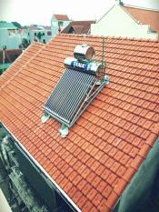 Máy nước nóng năng lượng mặt trời Tân Á Gold 180Lít