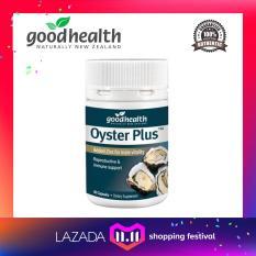 Tinh Chất Hàu New Zealand Goodhealth Oyster Plus 60 Capsules – Hỗ Trợ Sức Khỏe Phái Mạnh