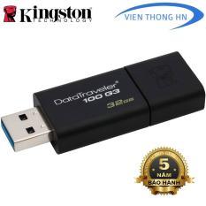 USB 3.0 32GB Kingston DT 100 G3 – CAM KẾT BH 5 NĂM 1 ĐỔI 1