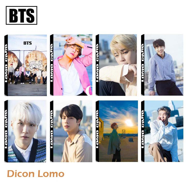 Lomo card BTS Dicon vol.2 Behind The Scene 2018