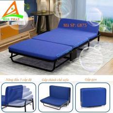 Giường gấp nâng đầu Nikita có thể chuyển đổi thành sofa 75cm (GB75)