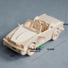 Đồ chơi lắp ráp gỗ 3D Mô hình xe ô tô BMW