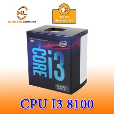 CPU Core I3-8100 Intel 3.6Ghz / 6MB / 4 Cores, 4 Threads / Socket 1151 V2 Viễn Sơn Phân Phối