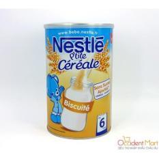 Bột pha sữa Nestle Vị Bánh Quy 6 tháng 400g date 2021