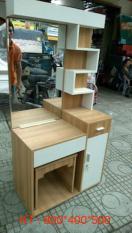 Bàn trang điểm kèm ghế Mina Furniture MN-BPMDF-7 (800*400*500)