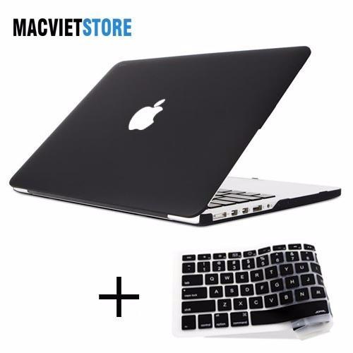 """Mua Combo Ốp Macbook Pro 15"""" (CÓ Ổ CD) Kèm Phủ A1286 Đen ở đâu tốt?"""