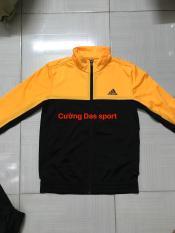 Áo khoác Das thể thao nữ cam đen