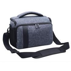 Túi đựng máy ảnh DSLR Canon, Nikon, Sony- (Túi Xám)