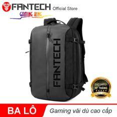 Ba lô đeo vai Gaming Fantech vải dù cao cấp BG03 – Màu đen