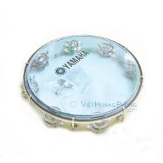 Trống lắc tay – trống gõ bo – Tambourine Yamaha MT6-102B (Xanh Trong) – Bảo hành 1 đổi 1 – HappyLive Shop