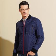Áo khoác dù nam 2 túi chống thắm cao cấp (xanh)