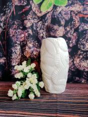 Bình lá nổi 24cm – Gốm sứ – 3469 CP