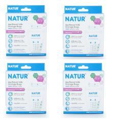 Túi trữ sữa Thái Lan Natur 120ml – bộ 120 túi