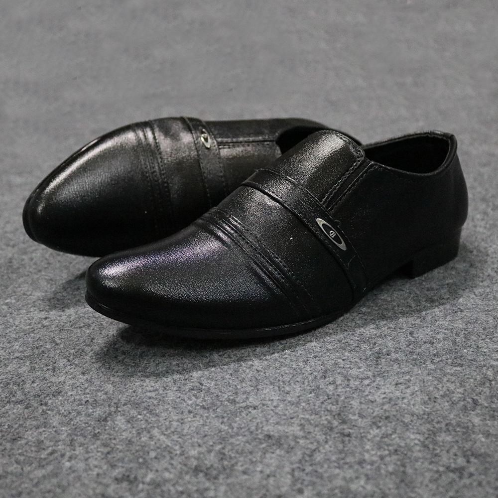 Giày Tây Nam Không Dây Lịch Lãm GV408