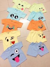 5 bộ cộc quần áo trẻ em cho bé trai , gái 4-15kg