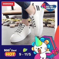 Giày Sneaker Nữ Siêu Hot SODOHA SNN03-68BW