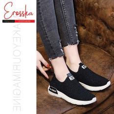 Giày Sneaker Nữ Thời Trang Erosska – GN034 (Xám)
