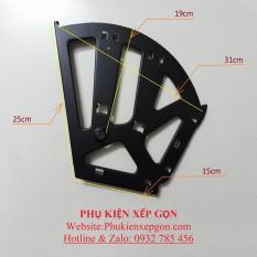 Bản lề tủ giày thông minh 3 ngăn, sắt sơn tĩnh điện (cặp).