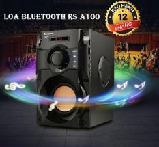 Loa Mini, Loa Microlab, Loa Bluetooth RS A100, Hệ Thống 3 Loa Kép Âm Bass Chuẩn – Điều Khiển Từ Xa Hỗ Trợ FM Radio – Bảo Hành 12 Tháng Lỗi 1 Đổi 1.