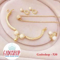 Bộ Trang Sức Xi Vàng 18k Gadoshop_VB4180612