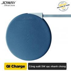 Sạc không dây Joway WXC02 Chuẩn QI cho iphone8/8plus, iphone X, Android – Hãng phân phối chính thức