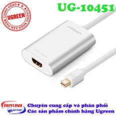 Cáp Thunderbolt – Mini Displayport to HDMI vỏ nhôm Ugreen 10451