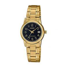 Đồng hồ nữ dây thép không gỉ Casio LTP-V002G-1BUDF