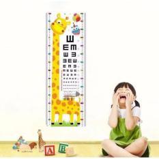 Decal dán tường đo chiều cao cho bé